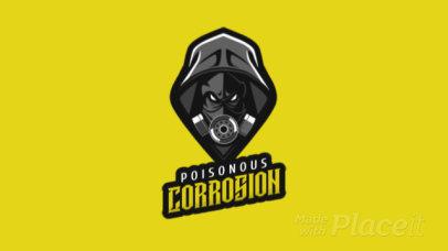 Animated Poisonous Illustration Logo Maker 1747n-2286