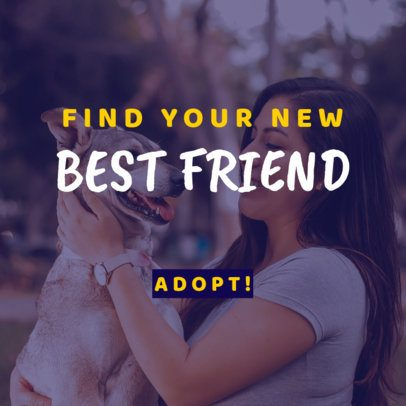 Banner Template for a Rescued Pet Association 2152c