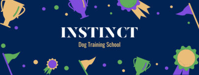 Facebook Cover Maker for a Dog Training School 2120f 2147