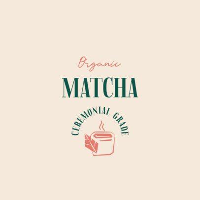 Modern Logo Maker for an Organic Tea Brand 2842a