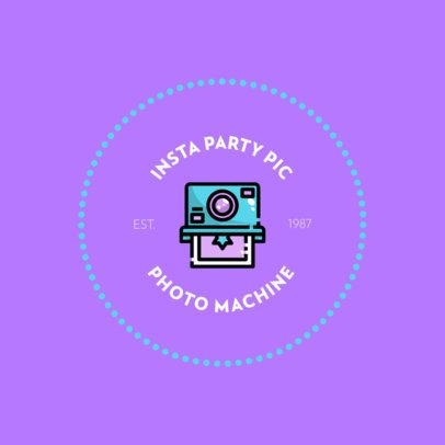 Party Entertainment  Logo Template for Photo Booth Rental Companies 610b-el1