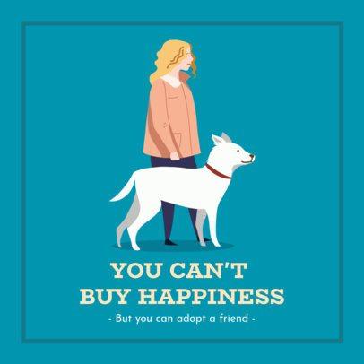 Facebook Post Maker for a Pet Adoption Campaign 2026j 2083