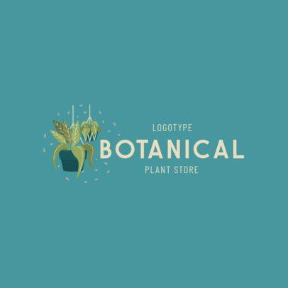 Plant Store Logo Generator 2839c
