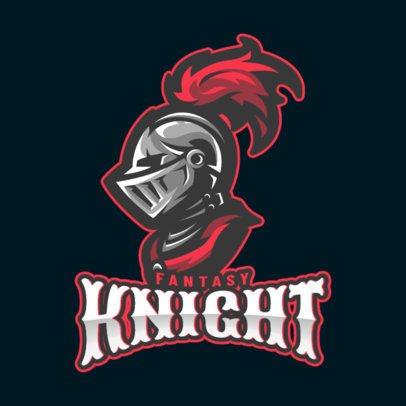 Online Logo Generator for Gamers Featuring a Knight Clipart 1877m-2883