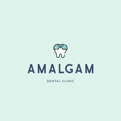 Minimal Logo Maker for Dentistry Centers Featuring Dental Illustrations 602-el1
