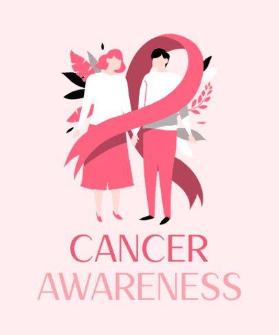 T-Shirt Design Maker for Cancer Awareness Day 2164