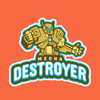 Logo Creator with a Giant Robot Graphic 2619t-2893