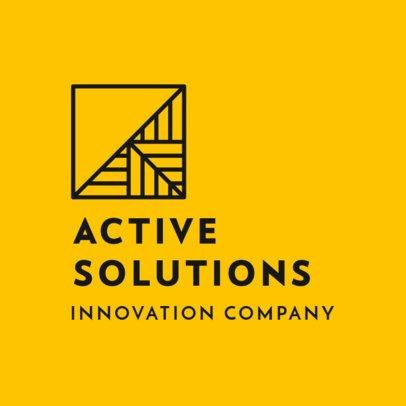 Abstract Logo Maker for an Innovative Company 2854b