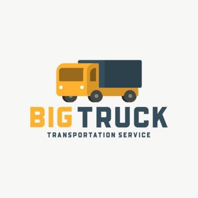 Simple Logo Template for Transportation Companies 702-el1