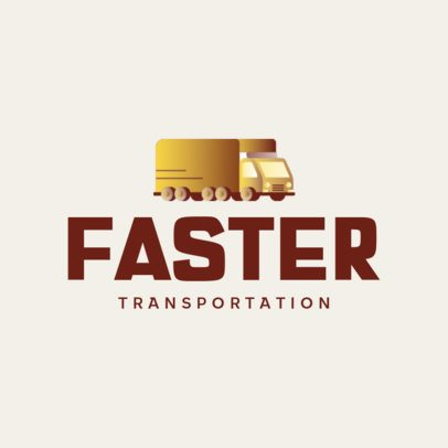 Logo Maker for an Express Transportation Company 692b-el1