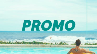 Intro Maker for a Spring Break Promo Ad 1168c-80