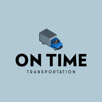 Transportation Logo Maker with Detailed Illustrations of Vehicles 694-el1
