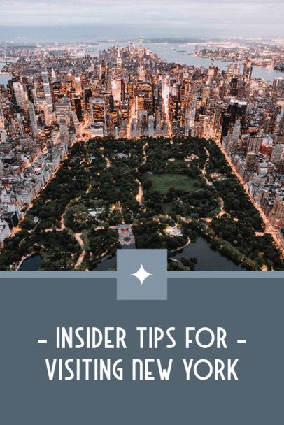 Pinterest Pin Maker Featuring New York City Sightseeing Tips 2245f