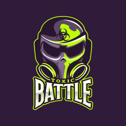 Logo Creator for a Gaming Team with a Masked Character Clipart 2449ll-2931