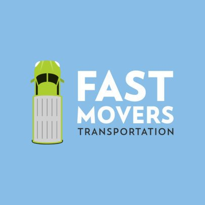 Modern Logo Template for a Moving Company 749b-el1