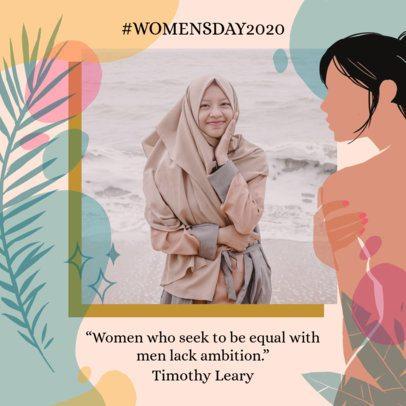 Instagram Post Maker to Commemorate Women's Day 2262