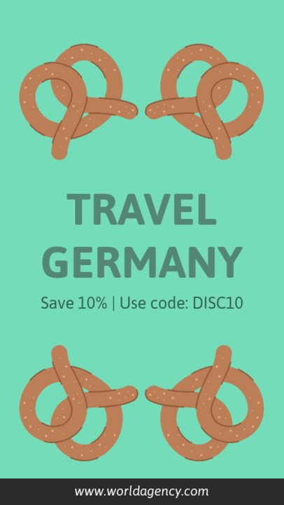 Instagram Story Maker for a Travel Guide To Germany 2232a