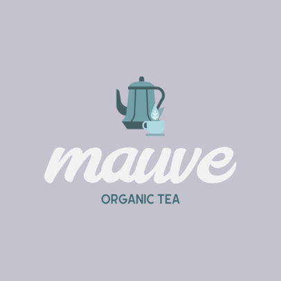 Logo Maker for an Organic Tea Store 818c-el1