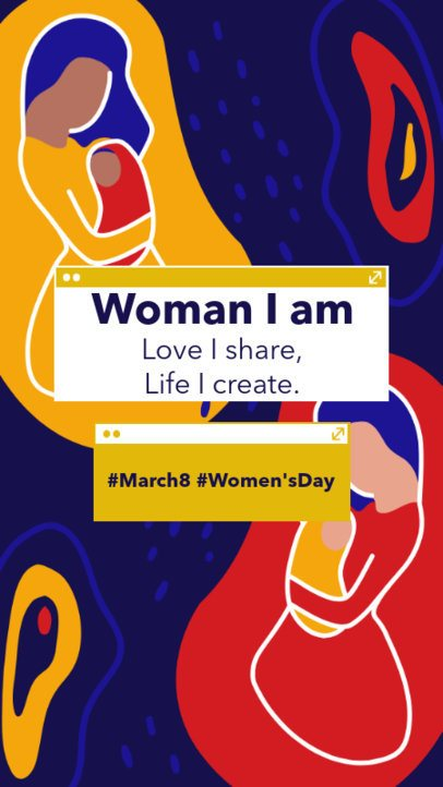 Instagram Story Maker to Commemorate International Women's Day 2261v