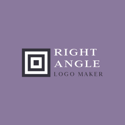 Geometric Logo Template with an Abstract Graphic for a Consulting Agency 815c-el1