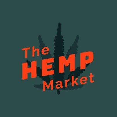 Simple Logo Generator for a Marijuana Dispensary 2924a