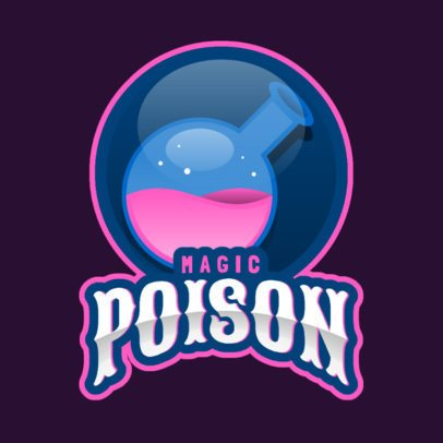 Gaming Logo Maker with a Potion Flask Graphic 2613ff-2964
