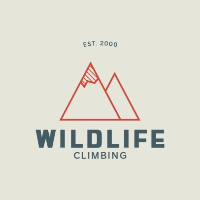 Adventurous Logo Maker for a Climbing-Related Company 876-el1