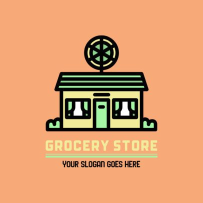 Logo Generator with a Storefront Graphic 882a-el1