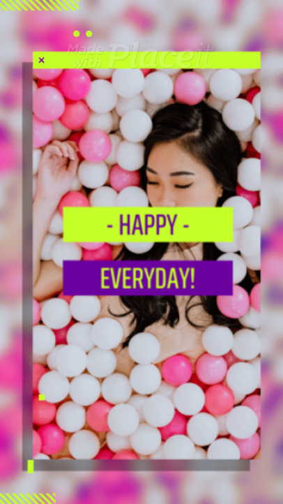 Instagram Story Video Maker Featuring Modern Graphics and Animated Transitions 1681