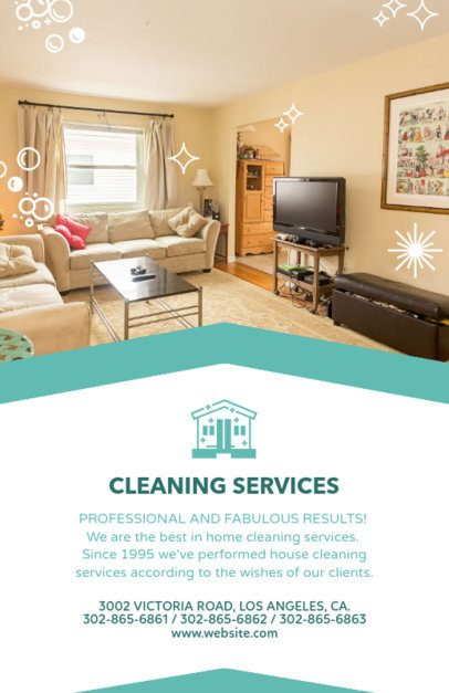 Flyer Maker for Cleaning Services 283d