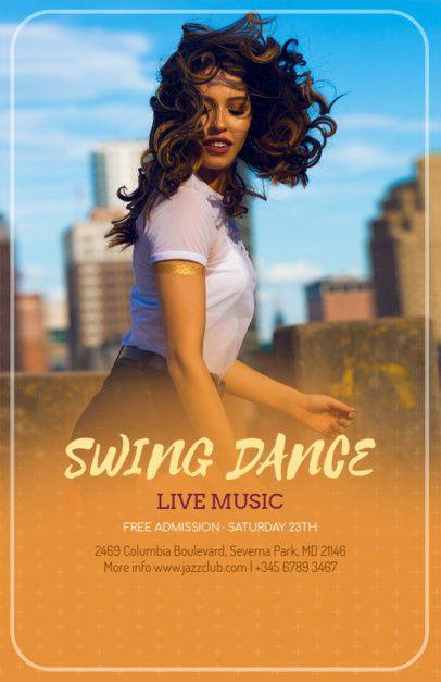 Fresh Flyer Design Maker for a Dance Event 139d