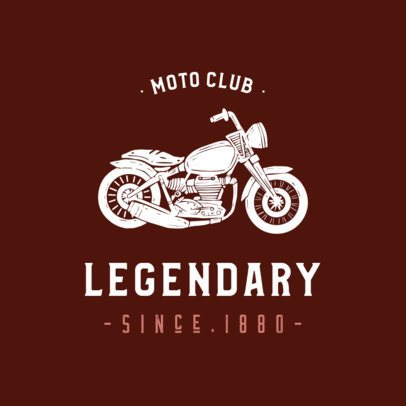 Motorcycle Club Logo Generator 925a-el1