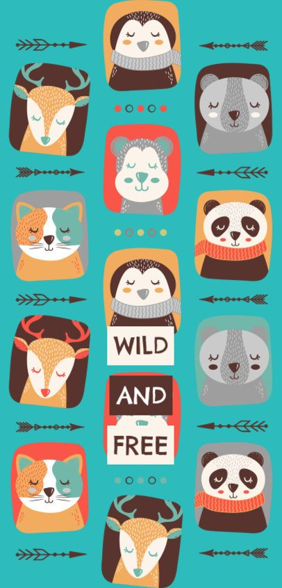 Wild Animals Phone Case Design Creator 2306d
