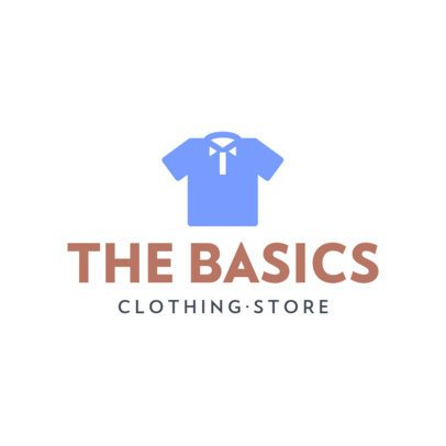 Clothing Store Logo Maker with Illustrations of Minimalistic Garments 919-el1