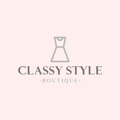 Classy Logo Maker for a Women's Boutique  919c-el1