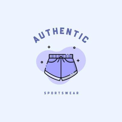 Sportswear Store Logo Generator 918b-el1