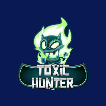 Teamfight Tactics-Inspired Logo Maker with a Skull Graphic 3001e