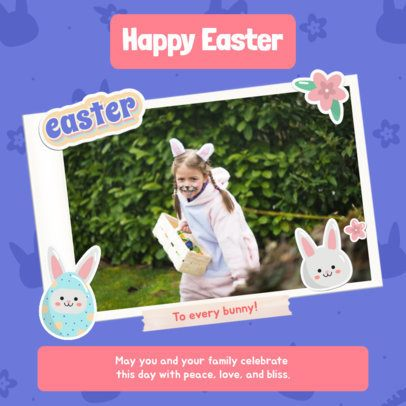 Instagram Post Maker for an Easter Egg Hunt 2323d