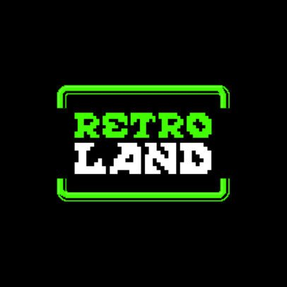 Gaming Logo Generator with a Retro Typography 3062c