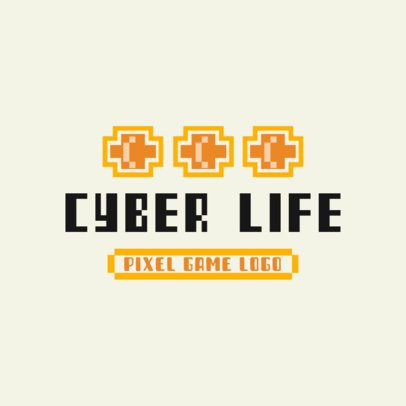 Online Logo Maker for Retro Video Games With 8-Bit Graphics 3063h