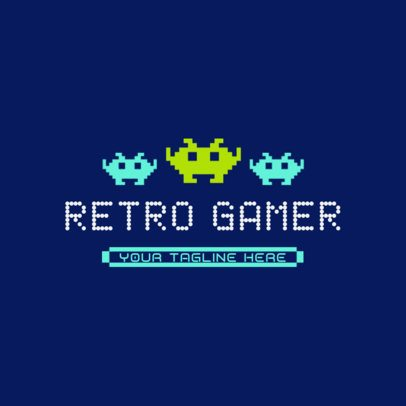 Logo Generator for Gamers With Retro Pixel Art Graphics 3063i