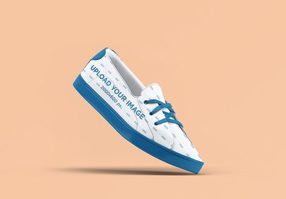 Mockup of an Angled Shoe on a Flat Surface 3280-el1