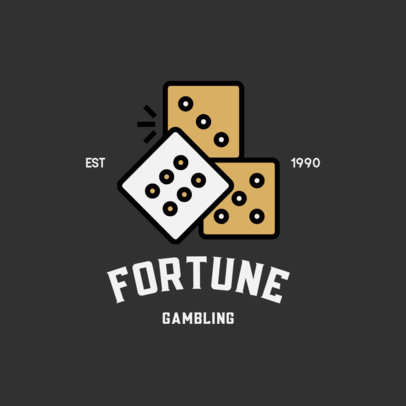 Logo Maker for a Gambling House 600-el1