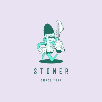Funny Logo Maker for a Cannabis Products Store 3082d