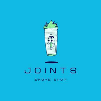 Cannabis-Themed Logo Generator for a Smoke Shop 3082k