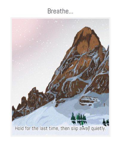 Landscape T-Shirt Design Maker with a Snowy Mountain 2411d