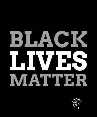 Equality T-Shirt Design Maker Commemorating Black History Month 2114i-2264