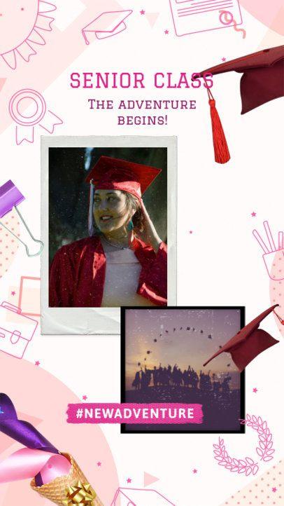Instagram Story Maker for a Senior Class 2430w