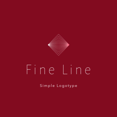 Abstract Logo Creator Featuring Fine Line Shapes 3114b