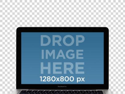 MacBook Pro Frontal Blender